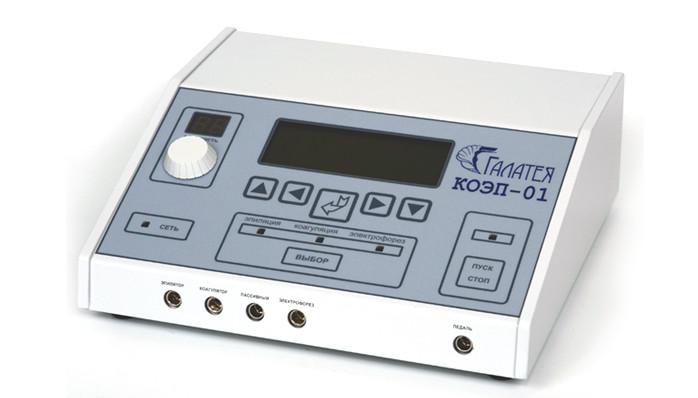 КОЭП-1. Аппарат двойного назначения - электроэпиляция и электокоагуляция
