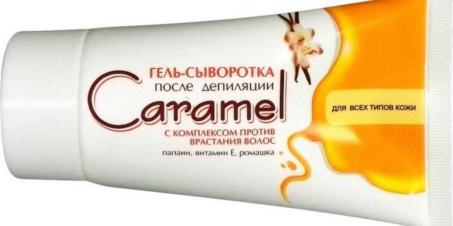 Гель после депиляции Caramel