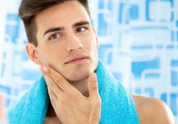 Мужской крем после бритья для женского лица