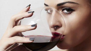 Прием алкоголя