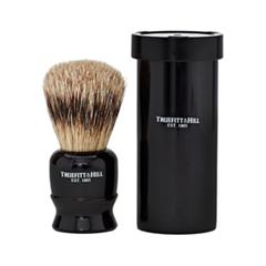 Помазки Truefitt&Hill Tube Traveler Shave Brush Faux Ebony Super Badger (Цвет Faux Ebony variant_hex_name 0F0D0E)