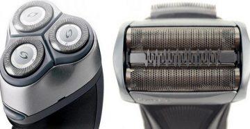 Роторная и сеточная бритва
